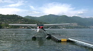 Stock Video Footage of seaplane base 04