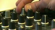 DJ mix 5 on DJM-800 Stock Footage