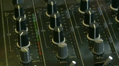 DJ mix 8 on DJM-800 Stock Footage