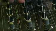 DJ mix 8 on DJM-800 Stock Footage