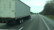 Highway travel ,America Stock Footage