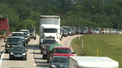 Highway Traffic Jam 543 Stock Footage