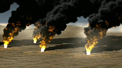 oil burn - stock footage