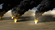 Oil burn Stock Footage