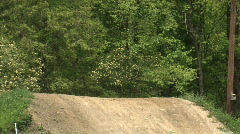 Dirt Bikes 554 Stock Footage