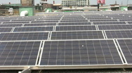 Stock Video Footage of rooftop solar panels