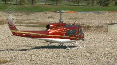 Aircraft, huey helicopter lift off, #10 Stock Footage