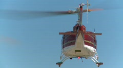 Aircraft, huey helicopter in flight, #7 Stock Footage
