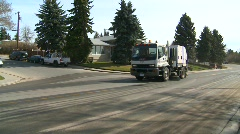 Street sweepers, urban spring cleaning, #15 Stock Footage