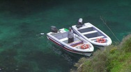Motorboat, Algarve, Portugal Stock Footage