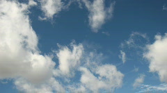 Time Lapse Blue Skies 03 Stock Footage
