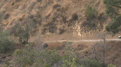 car mountain - stock footage