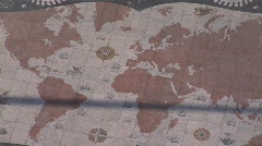 Mosaic of the world Stock Footage