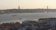 Stock Video Footage of Christo Rei, Lisbon, Portugal
