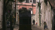 Stock Video Footage of Tram in Lisbon, Portugal