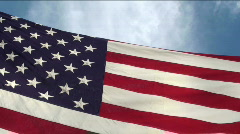 America flying free Stock Footage
