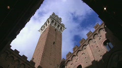 Siena, Tuscany, Italy (time lapse) Stock Footage