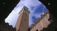 Stock Video Footage of Siena, Tuscany, Italy (time lapse)