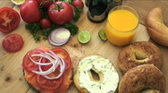 Sunday brunch Stock Footage