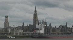 Antwerp Belgium - stock footage