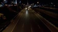 Traffic At Night 3 - SPEED Stock Footage