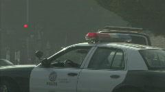 police car 2 - stock footage