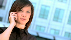 City business people - stock footage