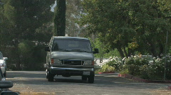 van 1 - stock footage