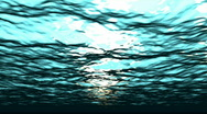 Stock Video Footage of Underwater Wave Loop
