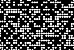 Static Black and White Particle TV Stock Footage