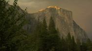 Stock Video Footage of Yosemite Rainbow