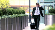 City business travel Stock Footage