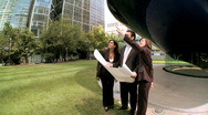 City architects (steadicam) Stock Footage