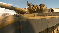 Military, Soviet T72 tank, #1 Stock Footage