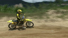 Motocross HD (14) Stock Footage