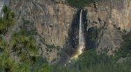 Stock Video Footage of Horsetail Falls in Yosemite National Park