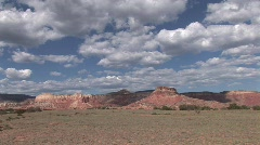 Ghost Ranch Pan- Abiquiu New Mexico Stock Footage