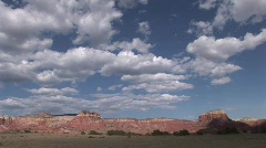 Ghost Ranch Time Lapse- Abiquiu New Mexico - stock footage