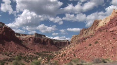 Ghost Ranch tracking shot- Abiquiu New Mexico Stock Footage