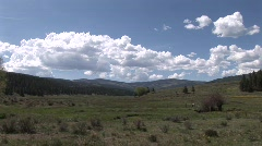 Dancing clouds of taos canyon time lapse Stock Footage
