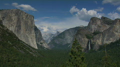 Yosemite Valley Time Lapse - stock footage