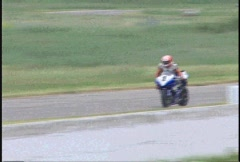 motorsports, superbikes racing on a grey day, #8 - stock footage
