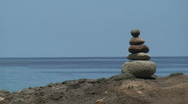 Rock Stack Round Stock Footage