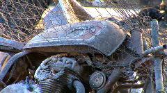 Zoom moottoripyörä tuhoutui tulipalossa Arkistovideo