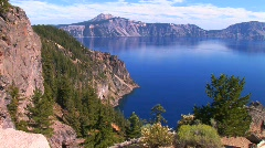 Stock Video Footage of Crater Lake, Oregon