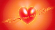 flying hearts Stock Footage