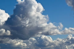 Clouds 1 NTSC Stock Footage