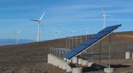 SolarAndWind Stock Footage