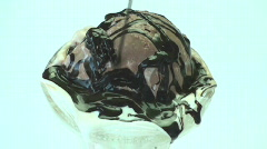 Hot fudge sundae Stock Footage
