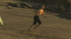 Skimboarders Stock Footage